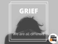 Grief. We are all different