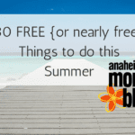 30 Free {or nearly free} Things To Do With Your Kids This Summer!