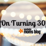 On Turning 30