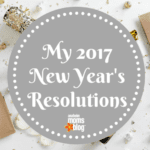 My 2017 New Year's Resolutions