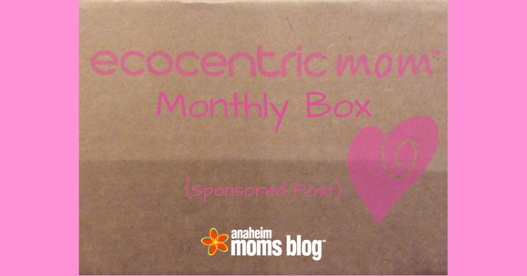 Ecocentric Mom Monthly Box Sponsored Post