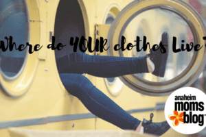 Where do YOUR clothes Live-