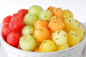 melon ball snacktivities