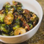 Garlic Brussels Sprouts – Fall Side Dish Recipe