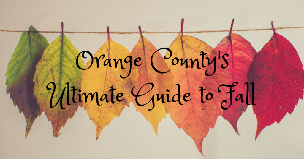 Anaheim Moms Blog Guide to Fall