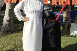 DIY No Sew Princess Leia costume