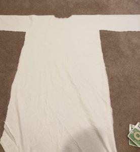 DIY no sew easy princess leia costume