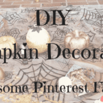 DIY Pumpkin Decorating (And Some Pinterest Fails….)