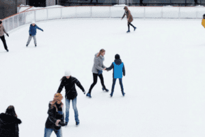 Ice skating in orange county