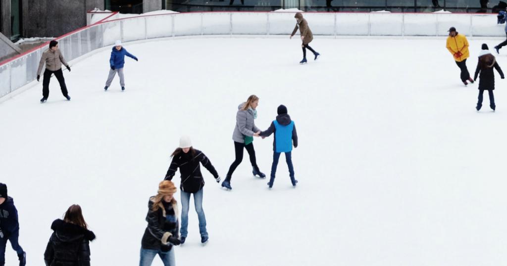 Ice skating in orange county