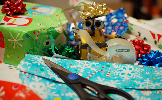 holiday gift-wrapping tip