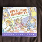 Reading Outside The Lines: Five Little Monkeys