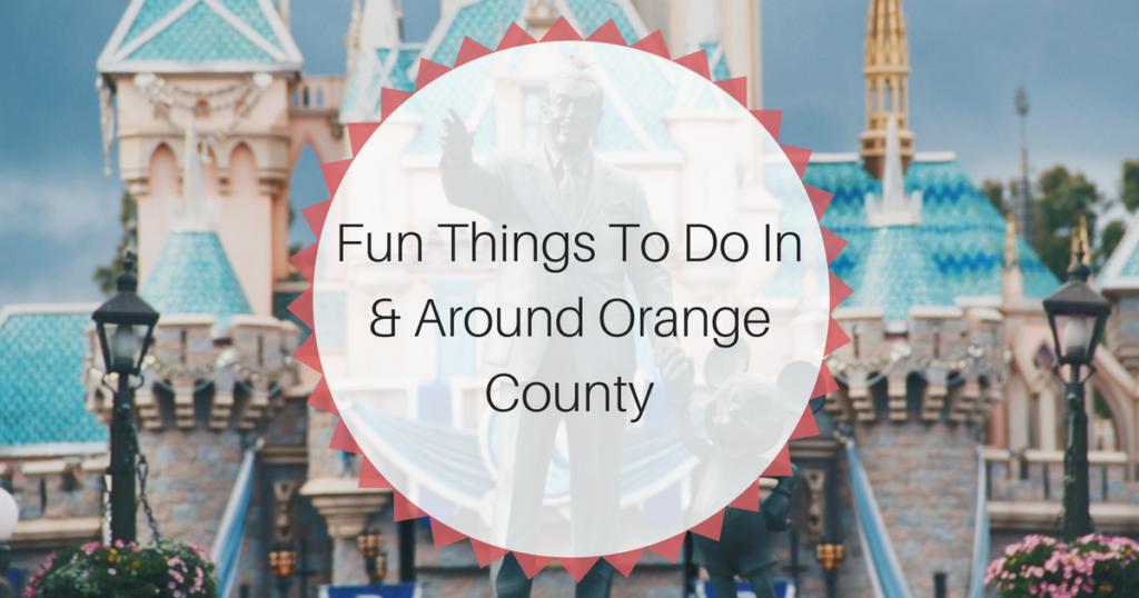 Moving to Orange County