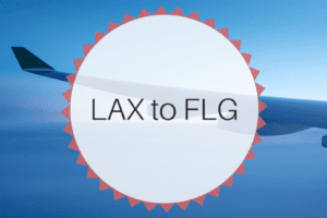 LAX to FLG - Flagstaff