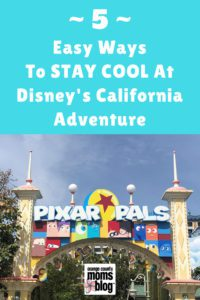 stay cool at Disney's California Adventure