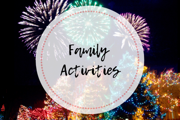 Holiday events in Orange County