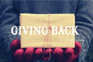 giving back in orange county