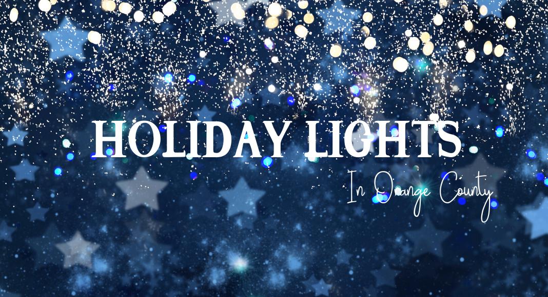 holiday lights orange county