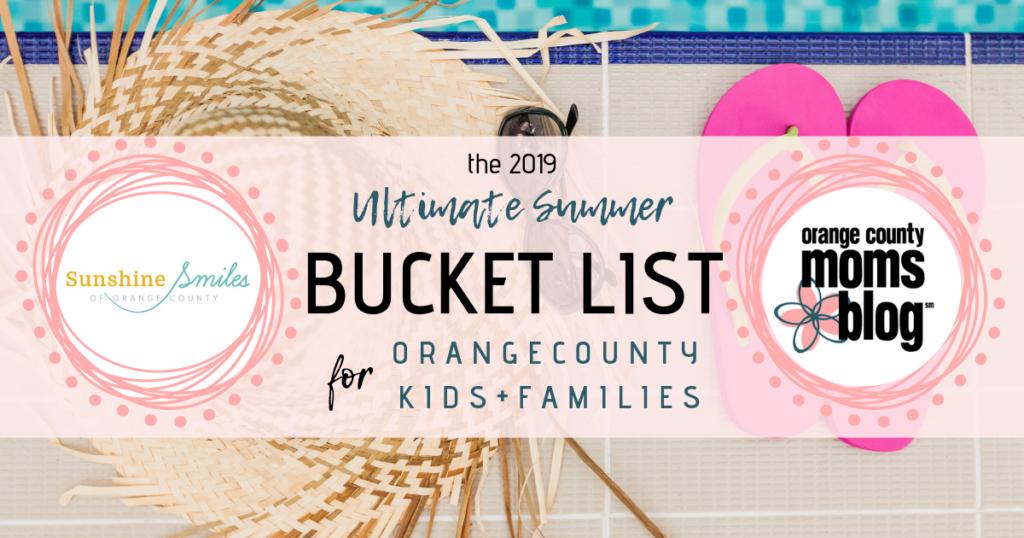 OC Summer Bucket List