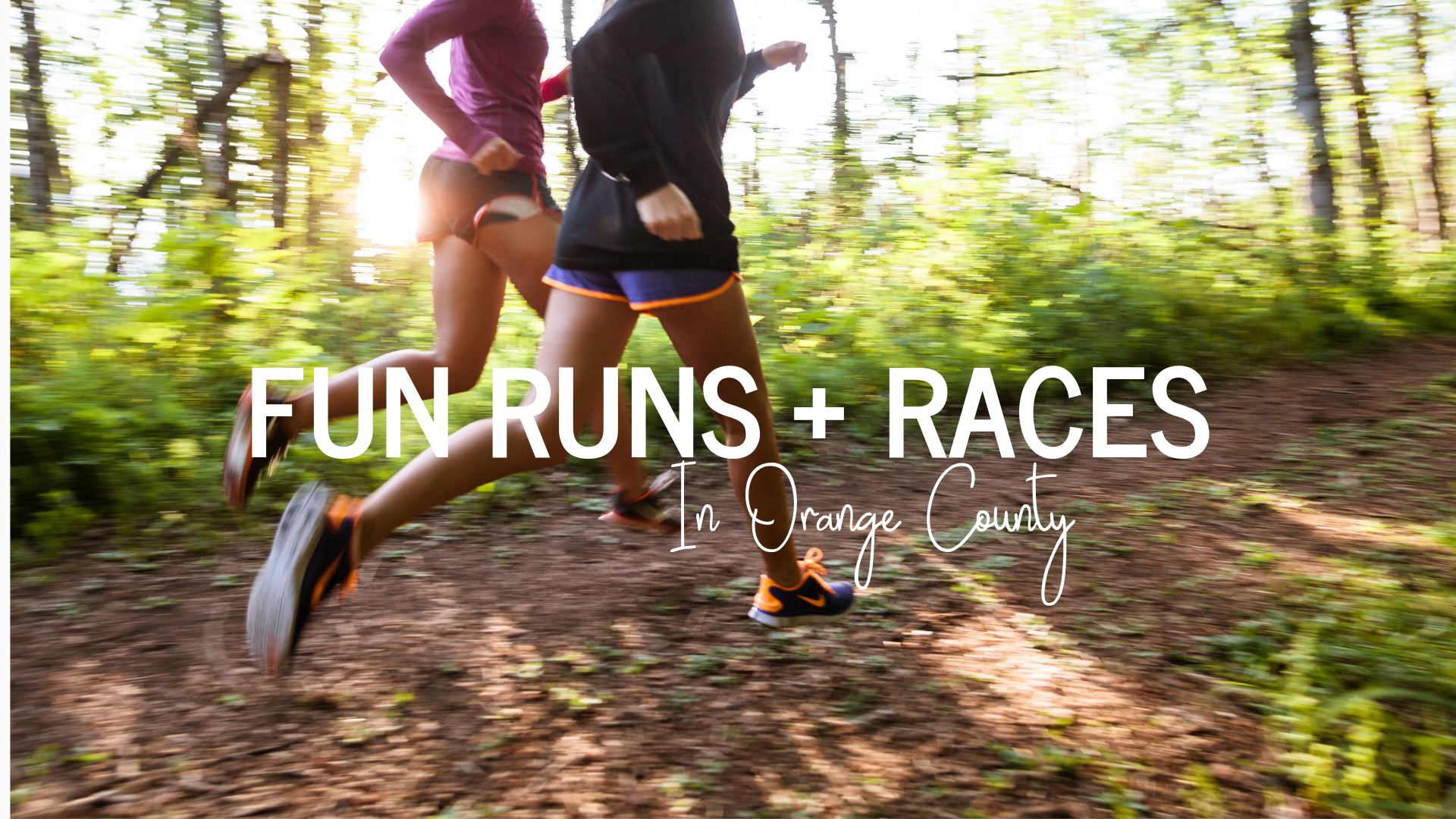 FALL FUN RUNS AND RACES IN ORANGE COUNTY
