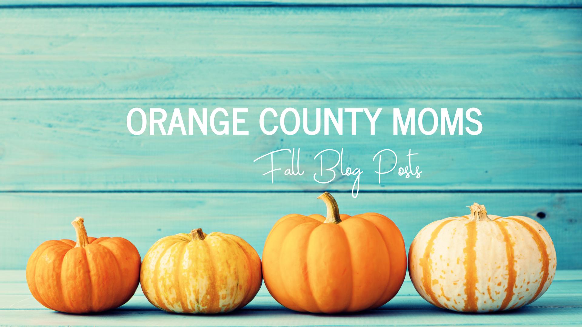 fall in orange county