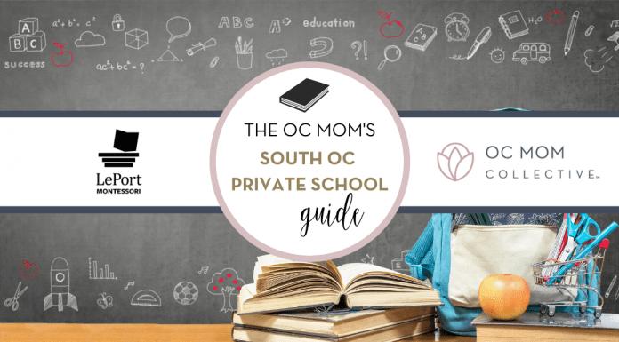 Orange County South OC Private School