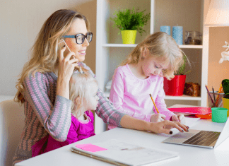 How To Stay Productive While Working From Home With Kids