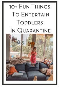 10+ Fun Things To Entertain Toddlers In Quarantine PIN