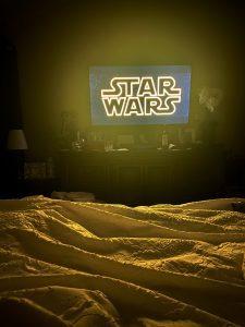 Star Wars at home