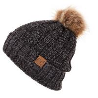 Fur Pom Beanie Hat