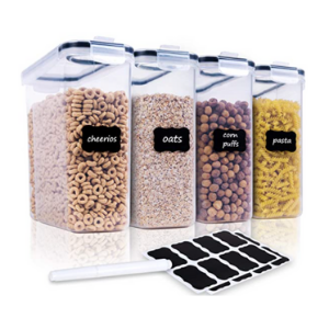 Home Edit Cereal Containers