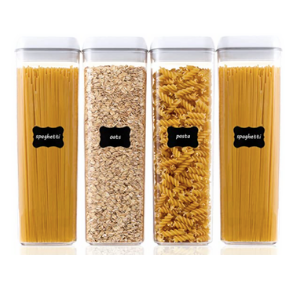 Clear Pasta Containers