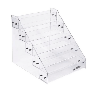 clear spice rack