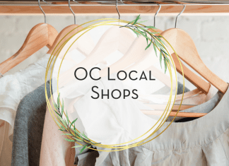 gift guide for oc local shops