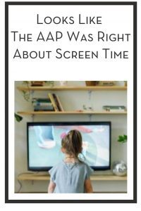 Looks Like The AAP Was Right About Screen Time PIN