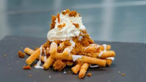 """A Touch Of Disney"" carrot cake funnel fries"