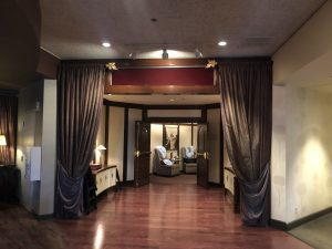 Steakhouse 55 Hallway at Disneyland Hotel