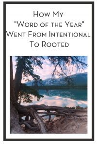 """How My """"Word of the Year"""" Went From Intentional To Rooted PIN"""