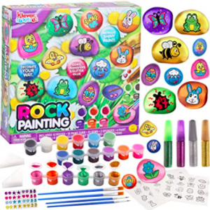 Rock painting easter kit