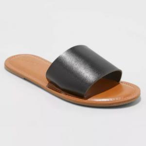 slide spring sandal