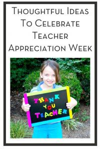 Thoughtful Ideas To Celebrate Teacher Appreciation Week PIN