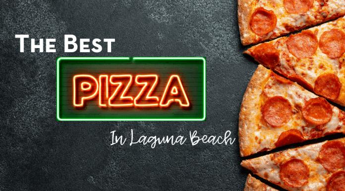 best pizza in Laguna Beach