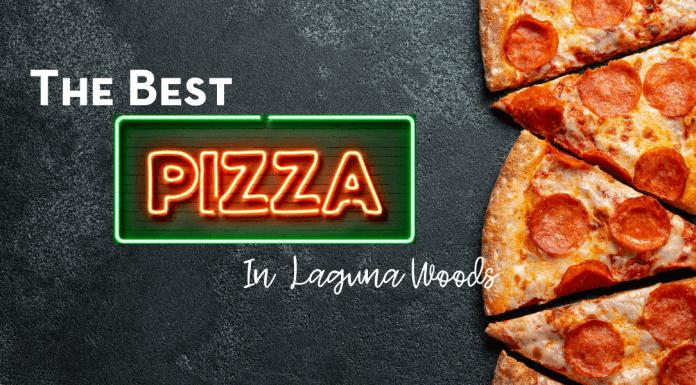 best pizza in Laguna Woods