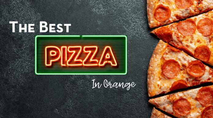 the best pizza in Orange