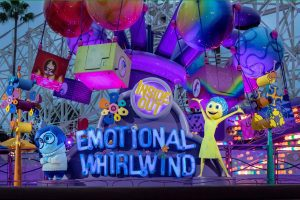 Attractions For Toddlers At The Disneyland Resort - Inside Out Emotional Whirlwind
