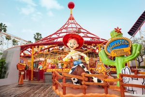 Attractions For Toddlers At The Disneyland Resort - Jessie's Critter Carousel