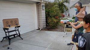 How To Create A Fun And Safe Halloween Carnival For Your Neighborhood - Nerf Game