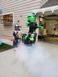 Alien Inflatables Photo Opp